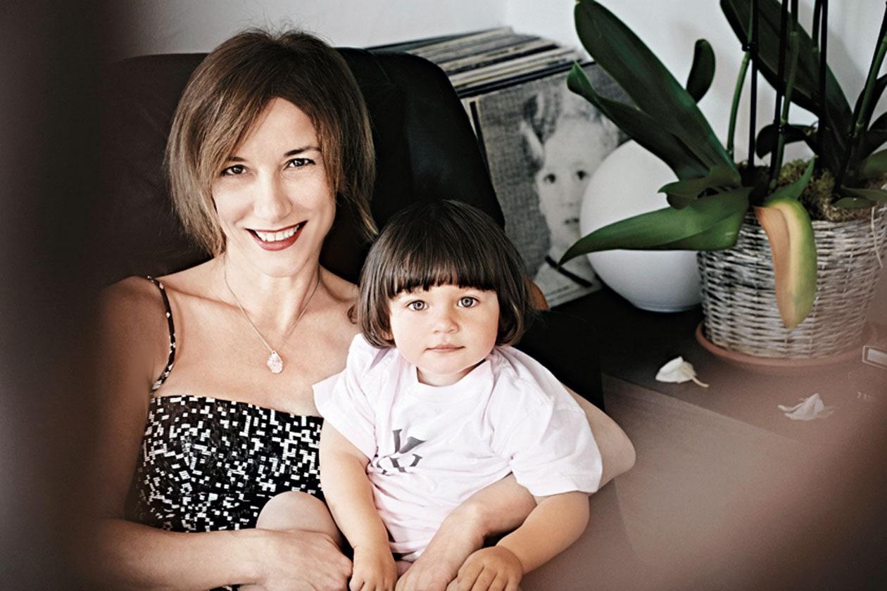Silvia Grilli e sua figlia
