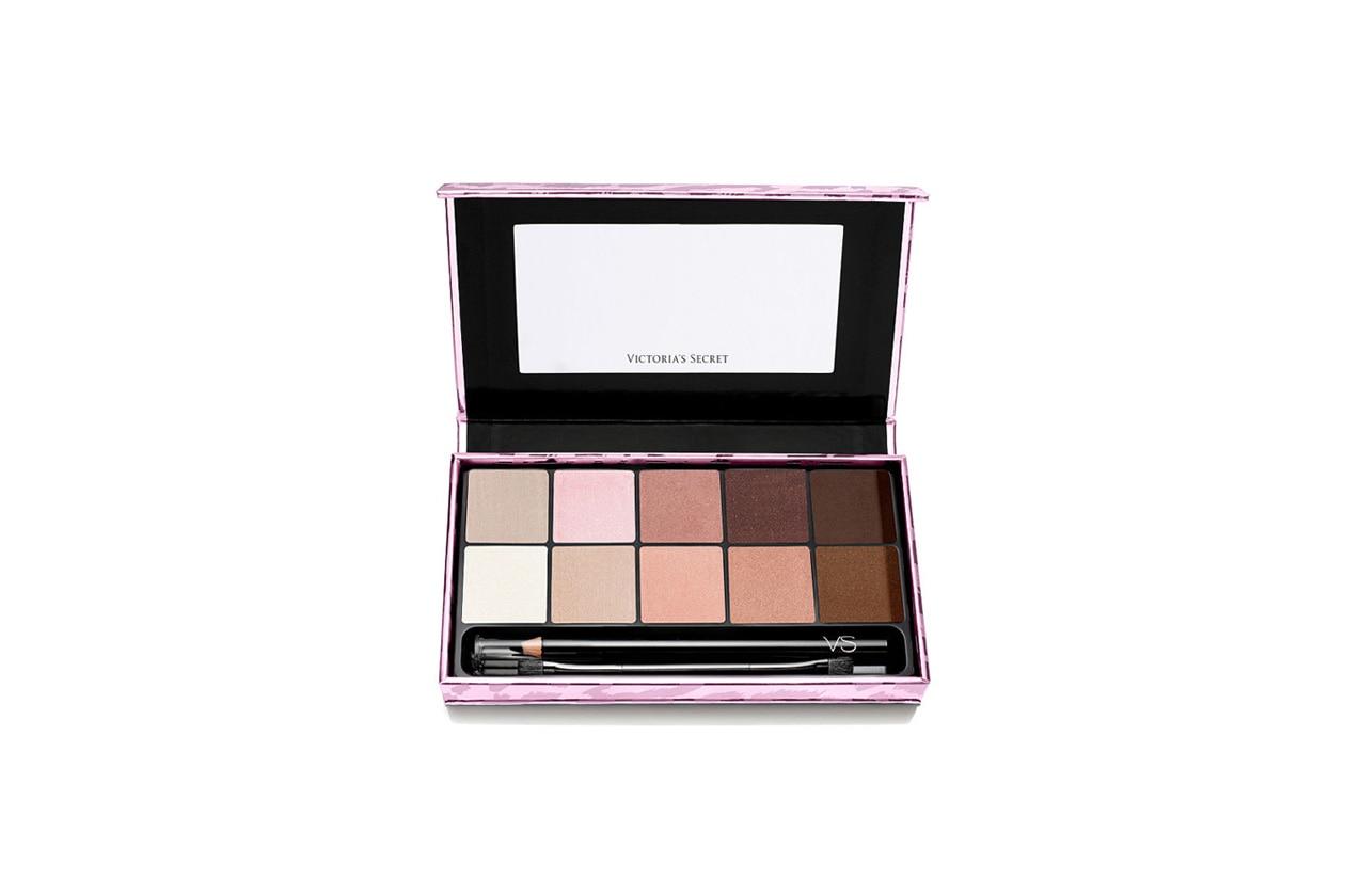 Toni neutri e glam nella versatile Victoria's Secret Exotic Palette in limited edition