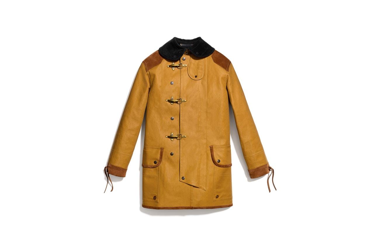 Twill Fireman Coat Similar styles available at Net a Porter Coach