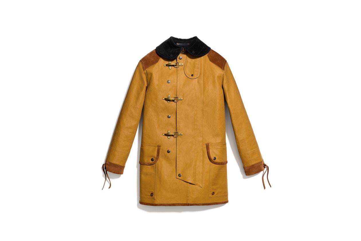 Twill Fireman Coat Similar styles available at Net a Porter Coach
