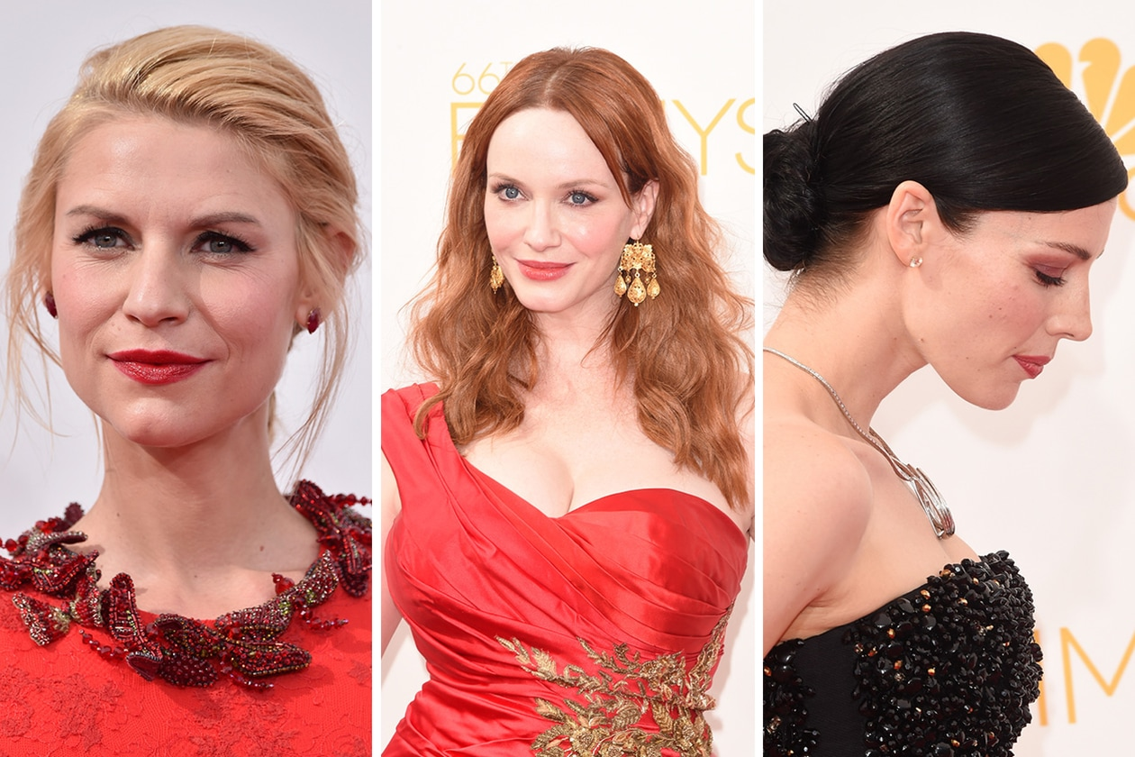 Emmy Awards 2014: i migliori beauty look delle star da Claire Danes a Christina Hendricks