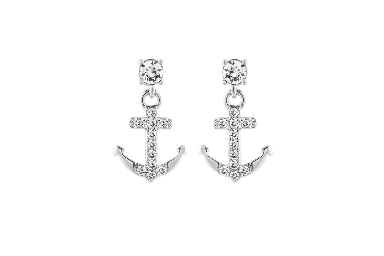 lolaandgrace Symbol Anchor Drop Earrings
