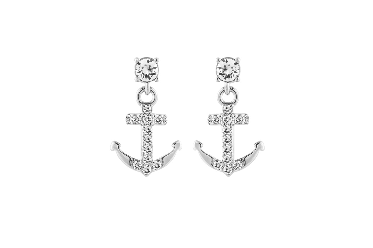 lolaandgrace Symbol Anchor Drop Earrings