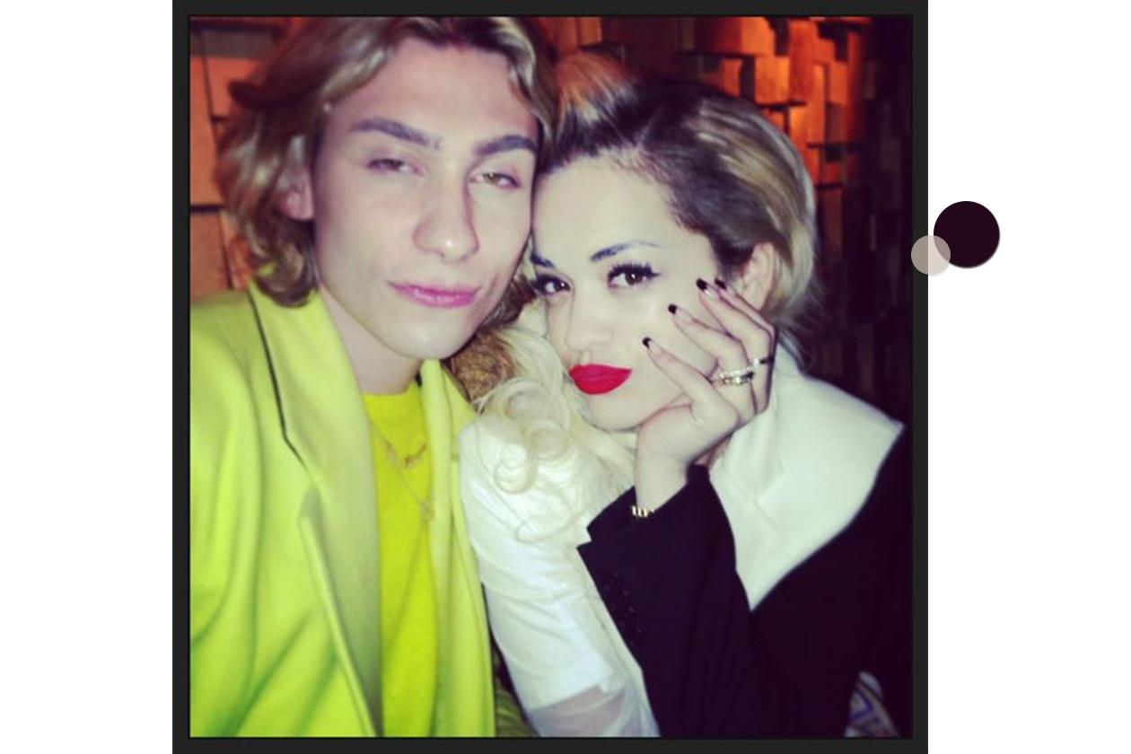Beauty Rita Ora 4 bicolor trasp nero
