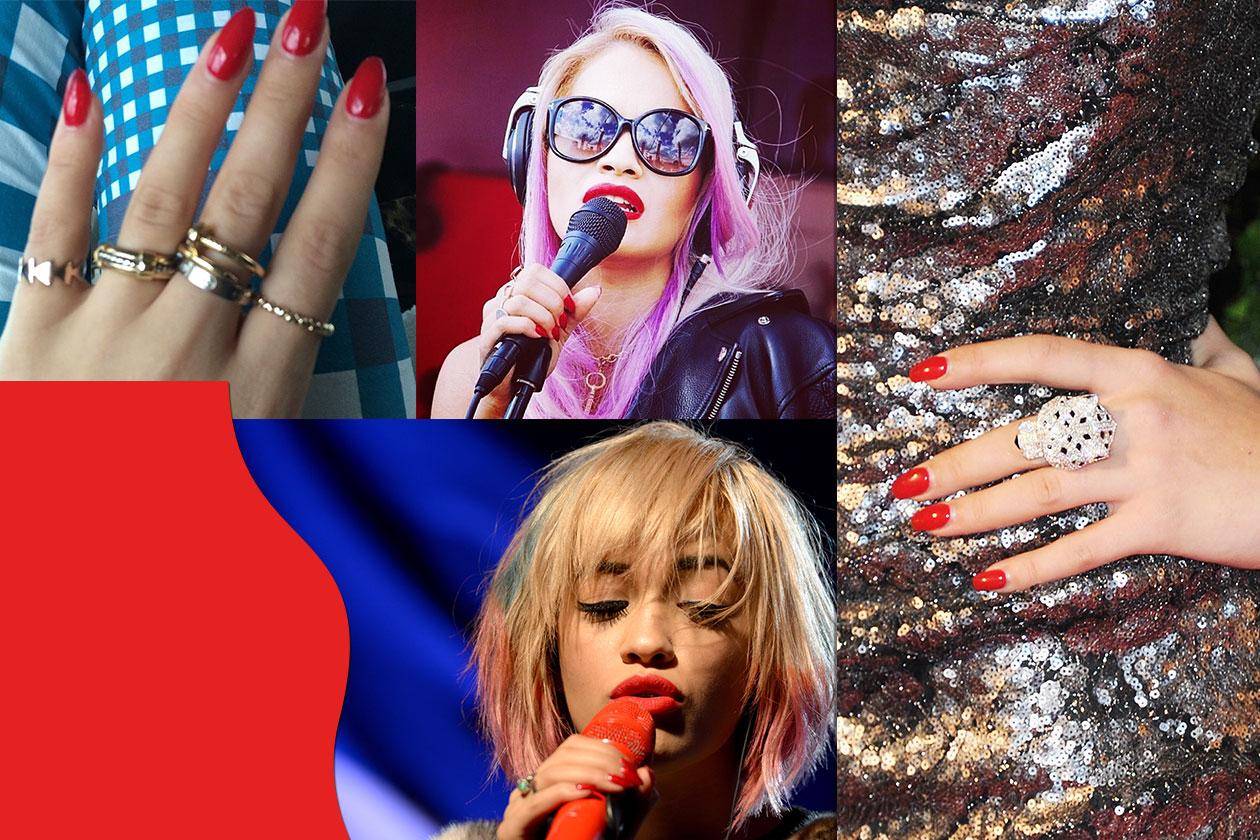 Beauty Rita Ora 7 full rubyred