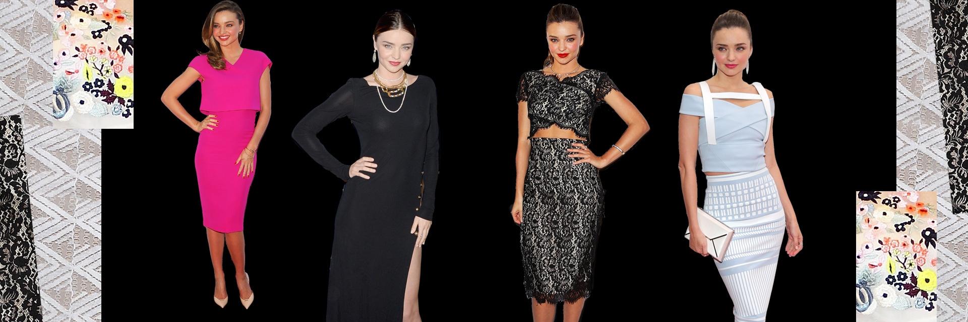 Miranda Kerr, fashion icon della settimana