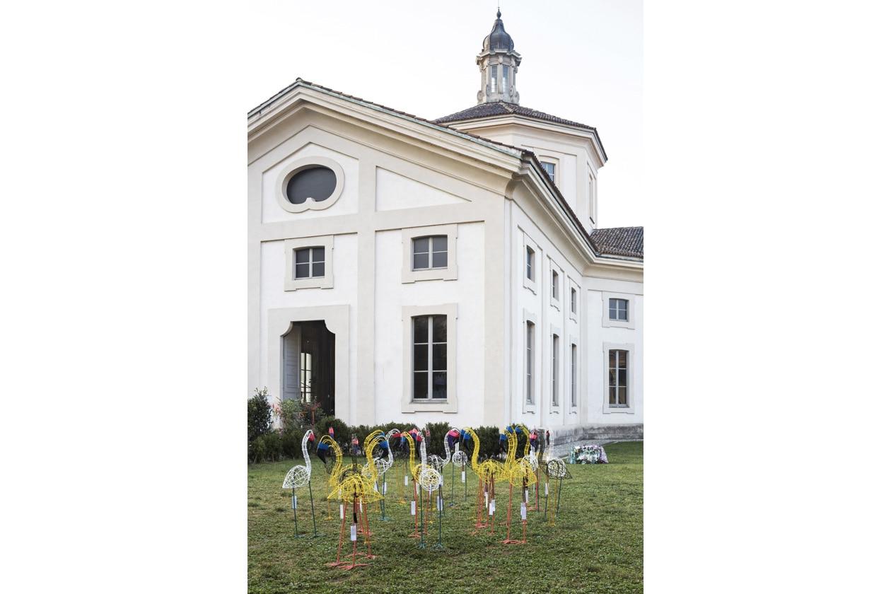 01 ñ MARNI FLOWER MARKET Installation Milan September 21