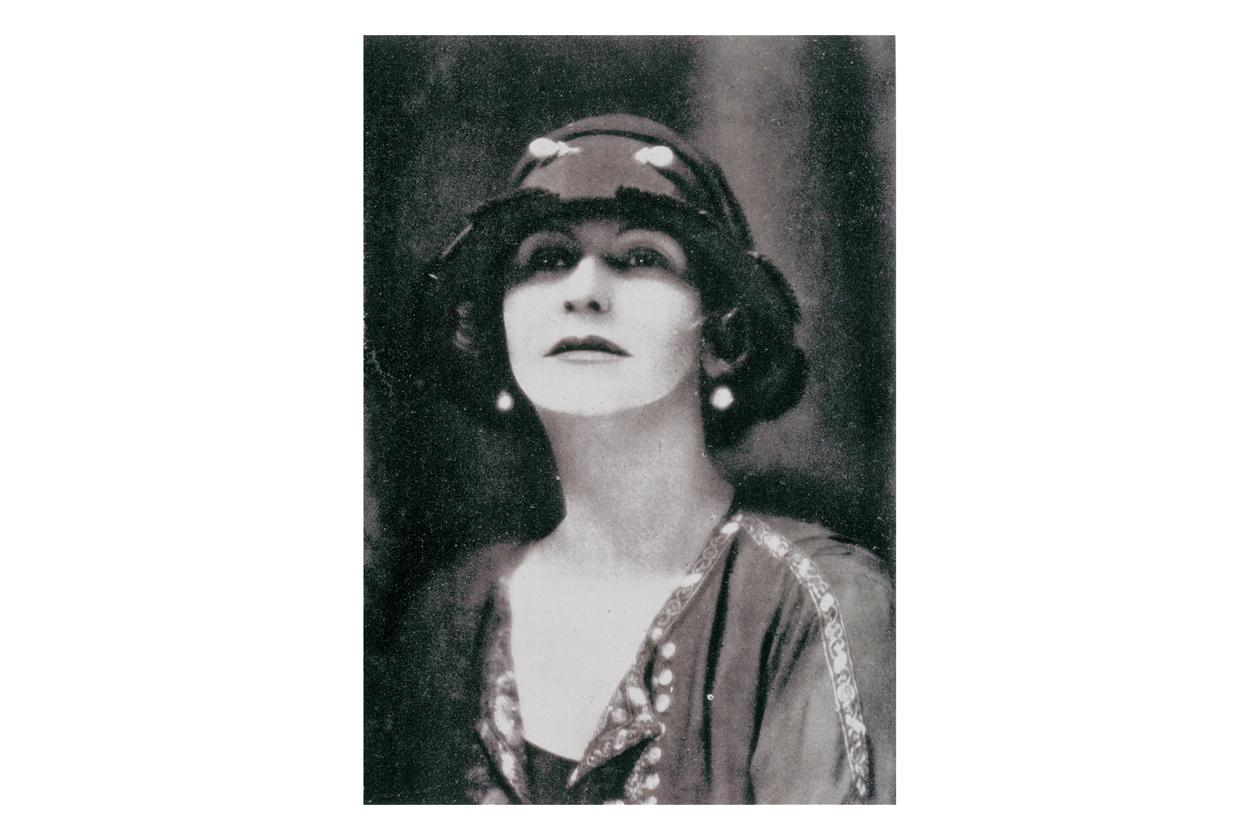 1923 Chanel Russian shirt