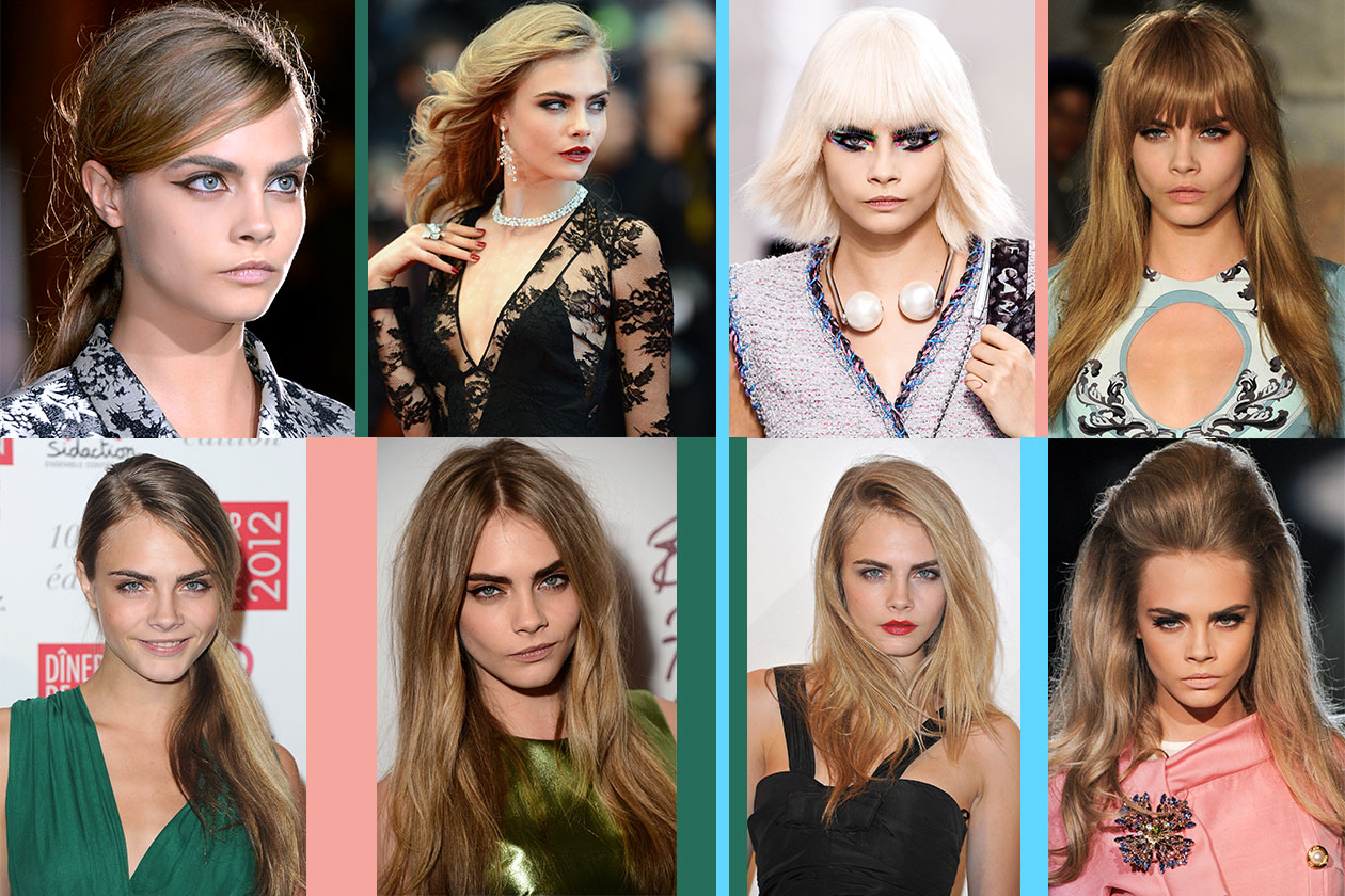BEAUTY Cara Delevingne Capelli 00 Cover collage