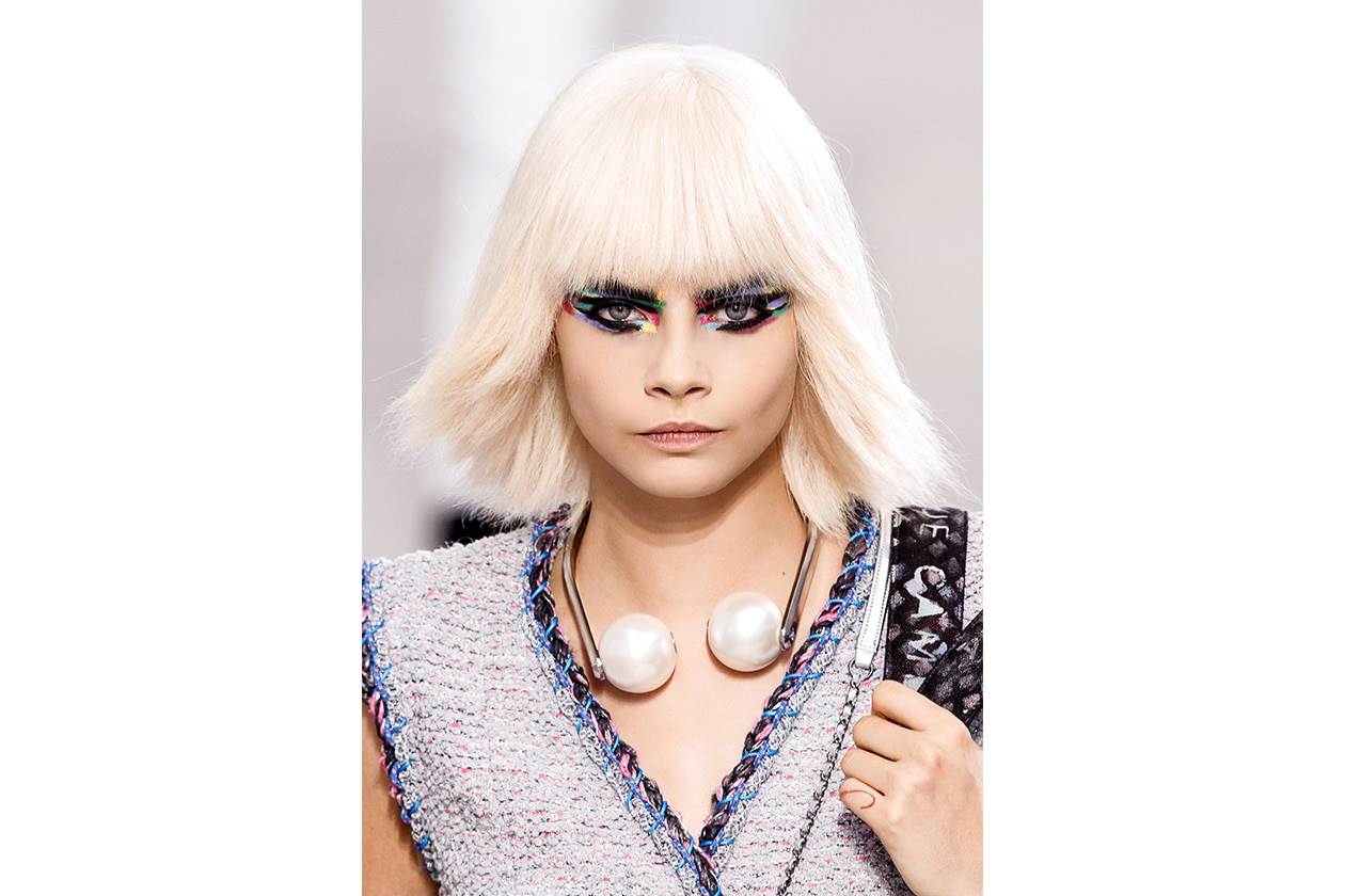 BEAUTY Cara Delevingne Capelli Chanel bty W S14 P 002