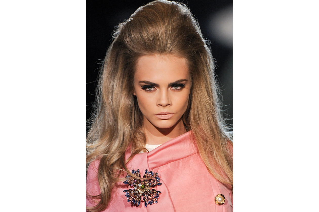 BEAUTY Cara Delevingne Capelli Dsquared2 bty F12 012
