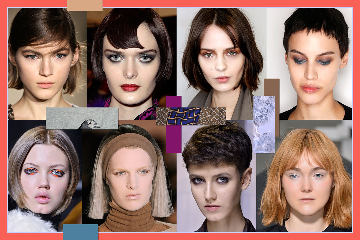 Beauty Capelli corti donna A I 2014 00 Cover collage