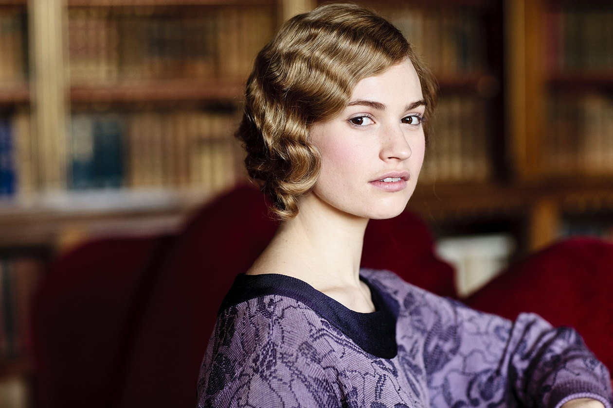 Beauty Lily james beauty promo 2