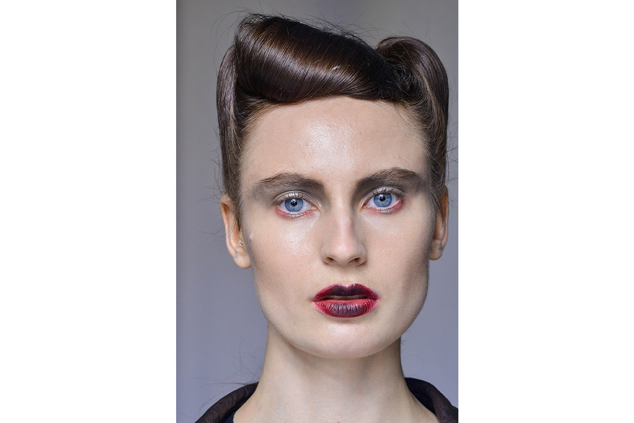 Beauty sfumature rosso make up occhi AI Antonio Marras bbt W F14 M 010