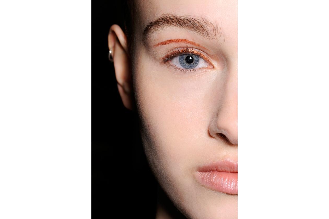 Beauty sfumature rosso make up occhi AI Holly Fulton bbt W F14 L 004