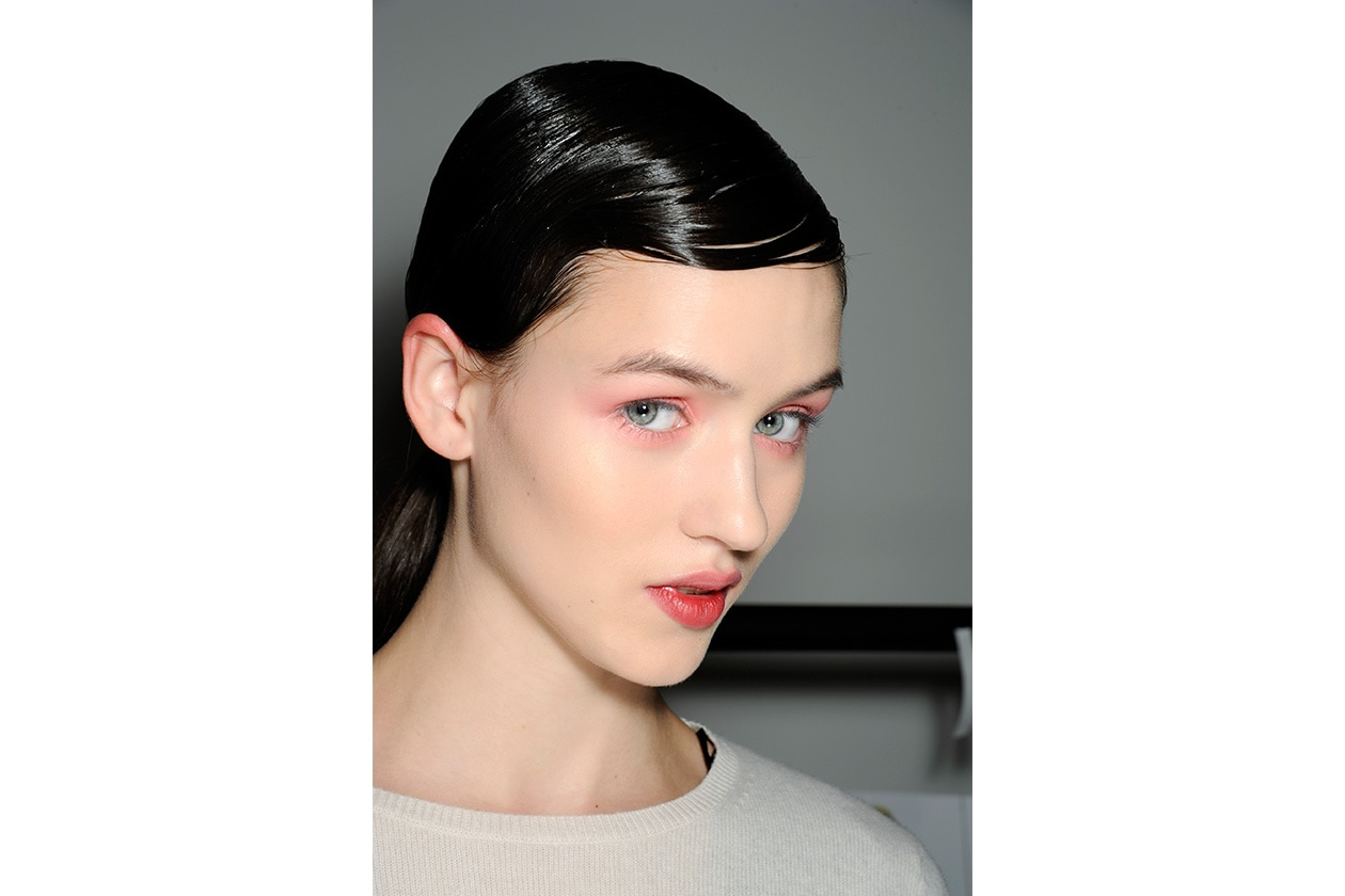 Beauty sfumature rosso make up occhi AI Jonathan Saunders bbt W F14 L 009