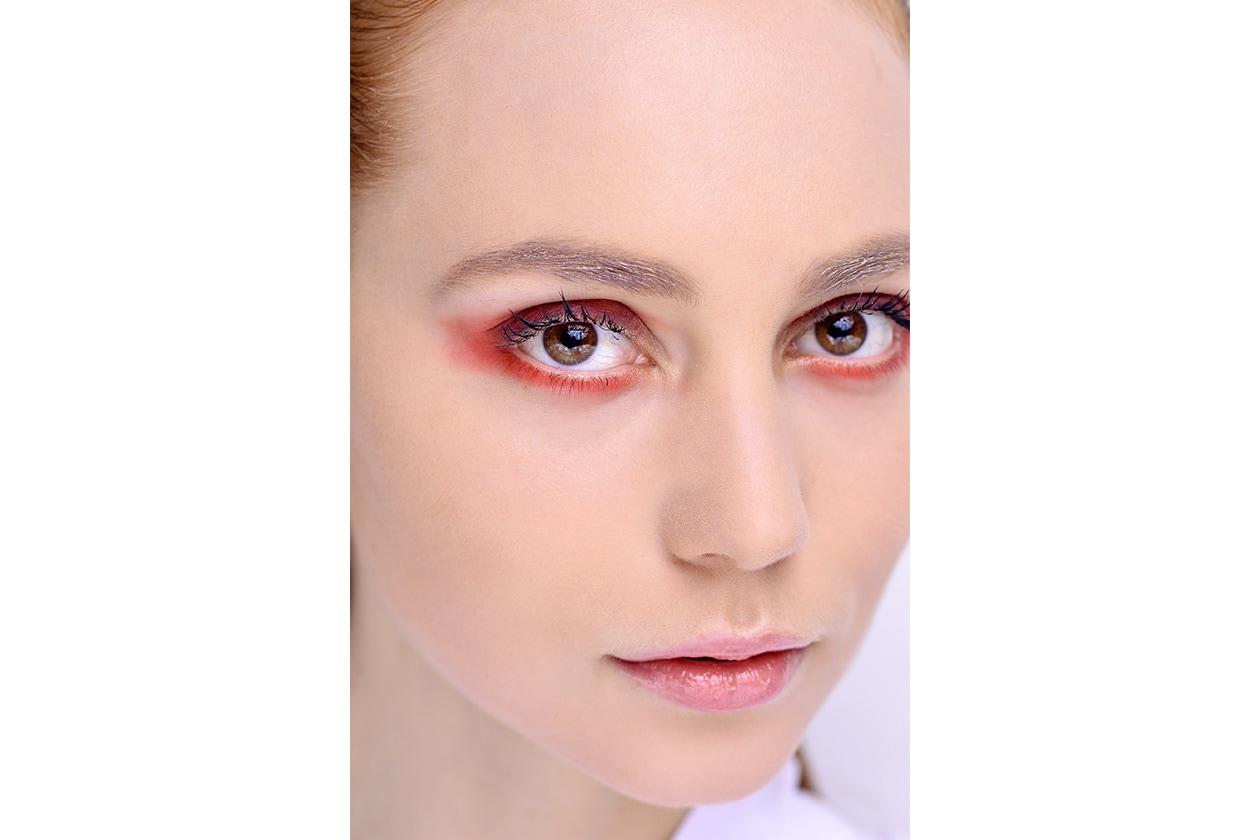 Beauty sfumature rosso make up occhi AI Krizia bbt W F14 M 006