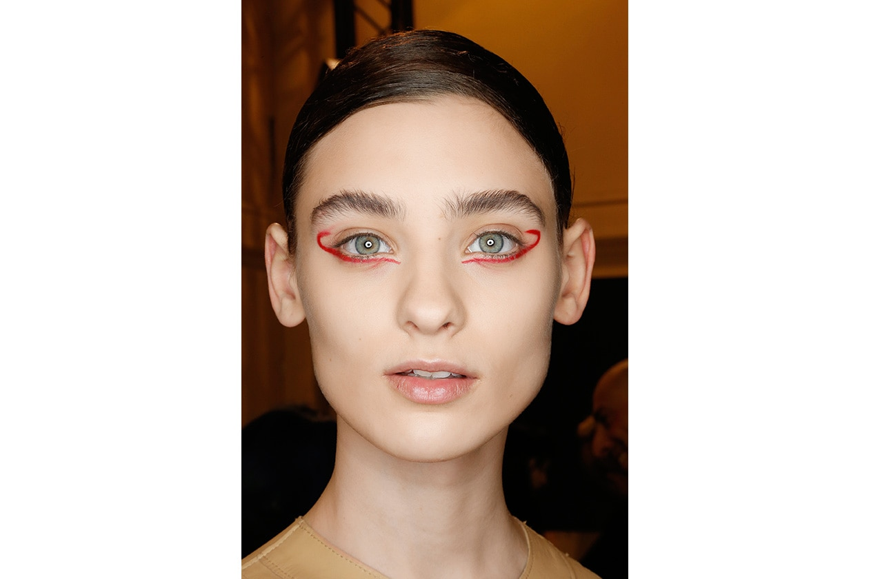 Beauty sfumature rosso make up occhi AI Ter et Bantine bbt W F14 P 007