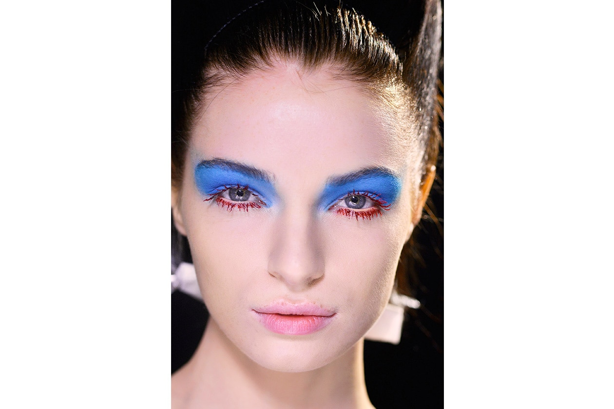 Beauty sfumature rosso make up occhi AI Wunderkind bbt W F14 P 010