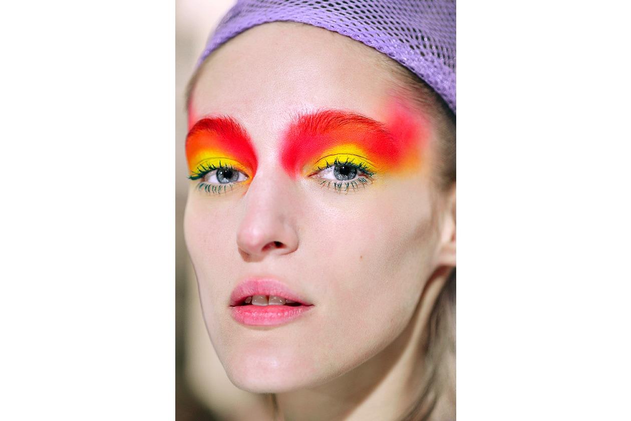 Beauty sfumature rosso make up occhi AI Wunderkind bbt W F14 P 011