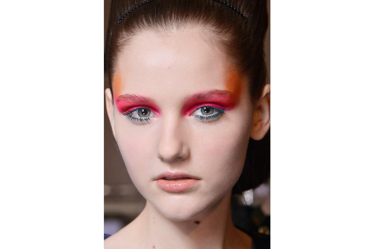 Beauty sfumature rosso make up occhi AI Wunderkind bbt W F14 P 022