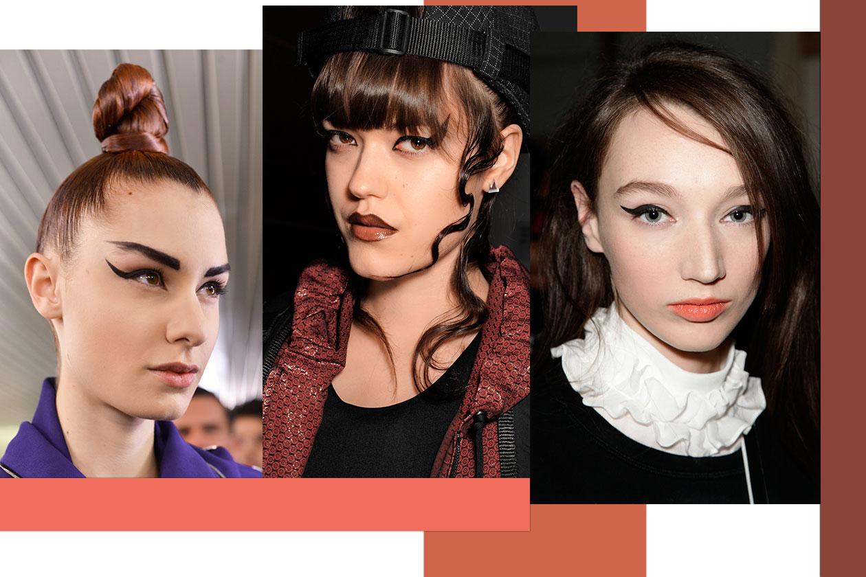 Beauty trend occhi AI14 14 cateye 3 gaultier nasir mazhar karen walker