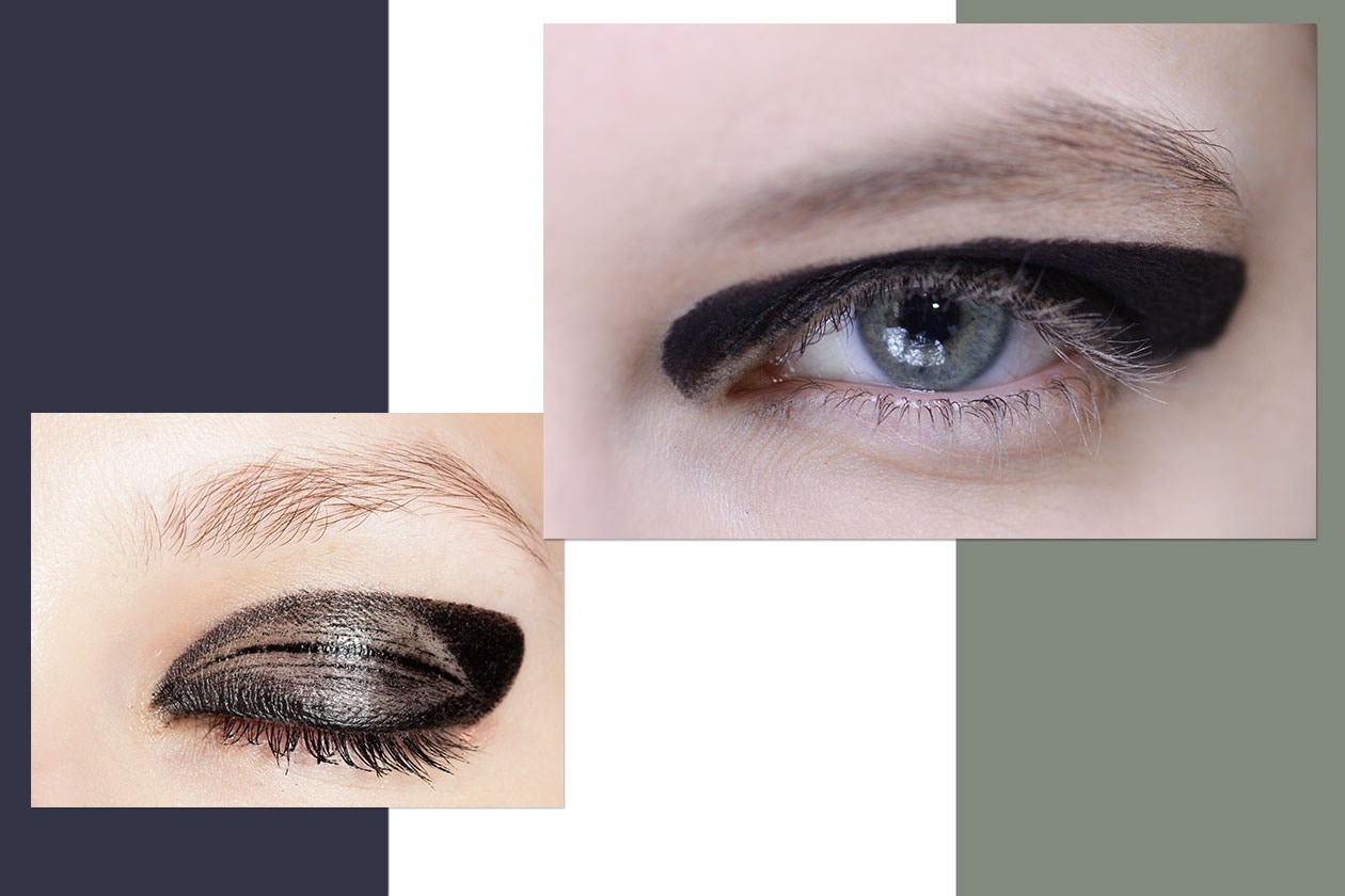 Beauty trend occhi AI14 15 cateye 5 dries van noten junko shimada