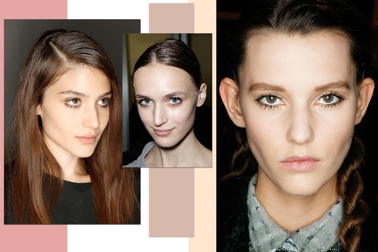 Beauty trend occhi AI14 18 ciglia 3 maison rabih kayrouz prada marco de vincenzo