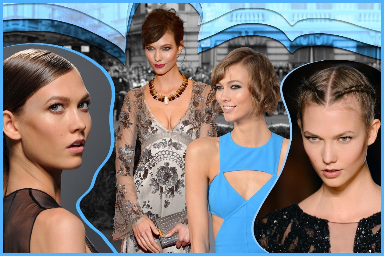Karlie Kloss: capelli corti ed easy per un taglio d'effetto e pratico