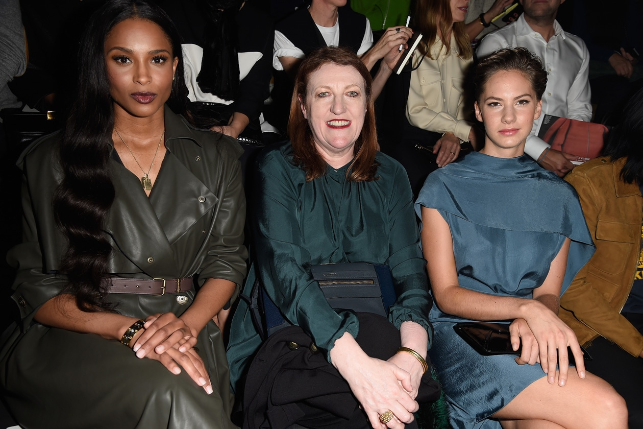 Ciara, Glenda Bailey and Emma Ferrer