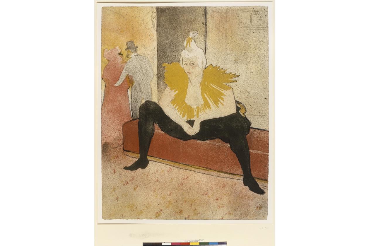 Elles Clownesse Assise Toulouse Lautrec