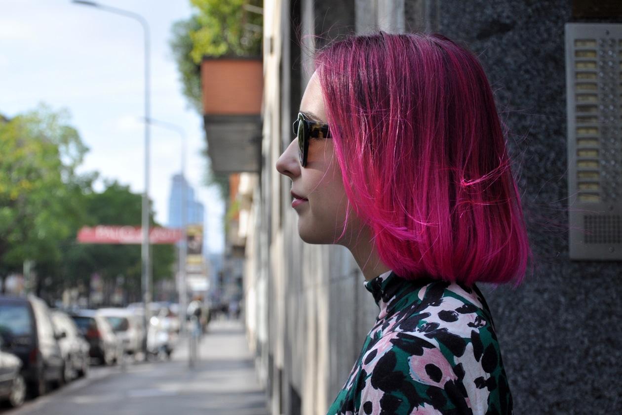 FUCSIA HAIR