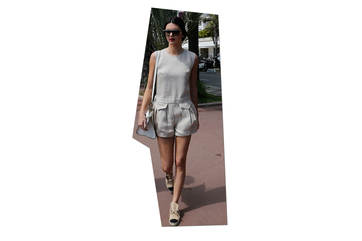 Fashion Get the Look Kendall Jenner Kendall Jenner Longchamp Autumn 2014