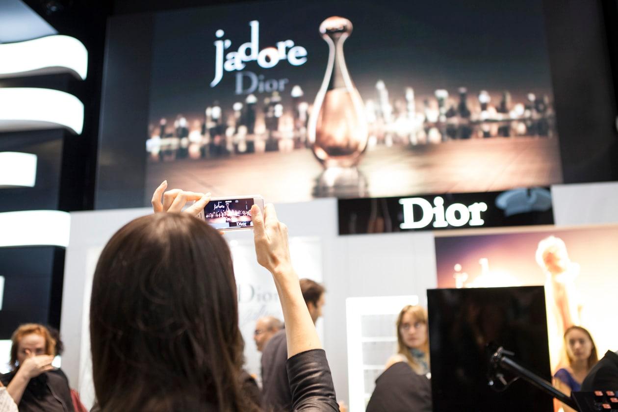 Follow on Instagram: #DiorJadore.