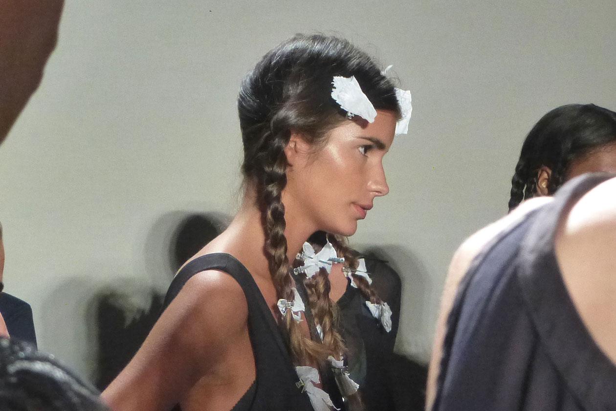 Glowing skin per la modella di Stella Jean