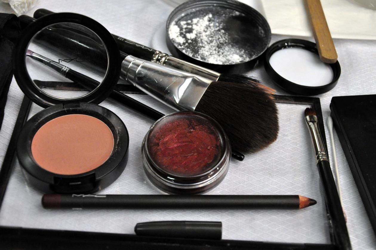 I trucchi utilizzati per il beauty look by Mac Cosmetics
