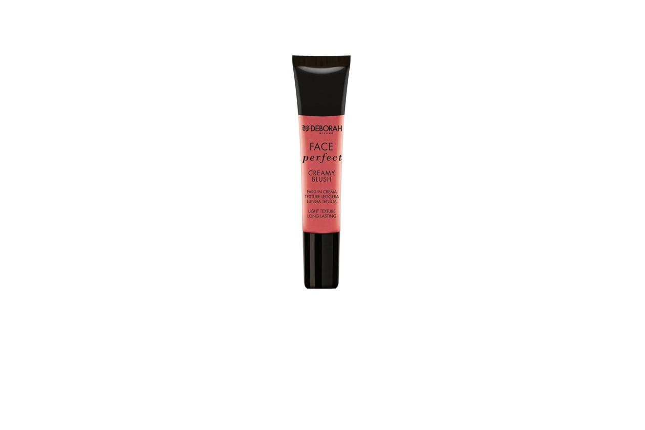 IN CREMA: Face Perfect Creamy Blush in 05 Cherry di Deborah Milano ha una texture soffice ed è facile da sfumare