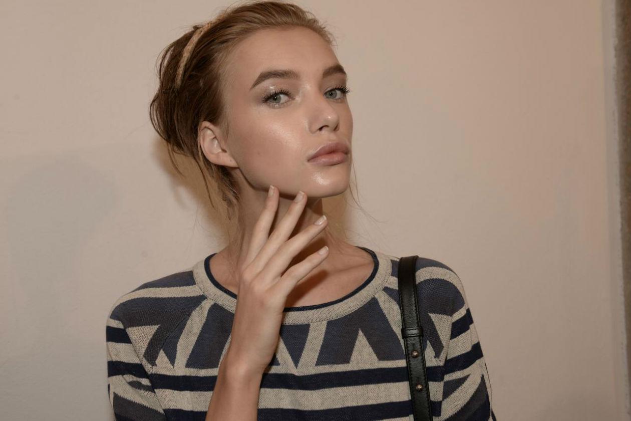 Il make up è luminoso (Ermanno Scervino)