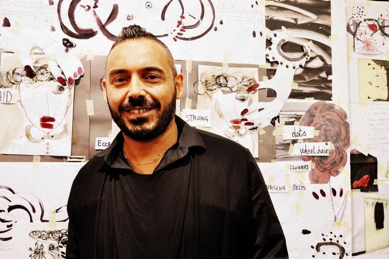 Il nail artist Antonio Sacripante