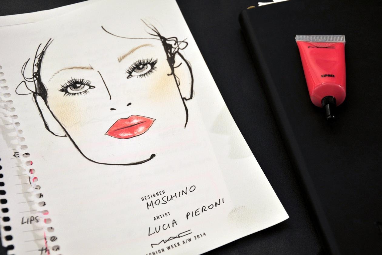 La Face Chart by MAC Cosmetics