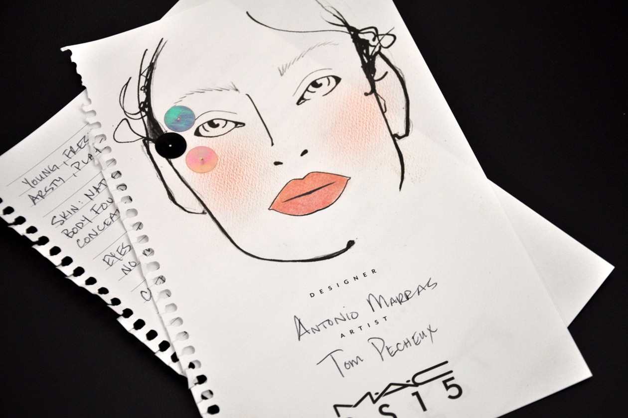 La Face Chart by Tom Pecheux by MAC Cosmetics