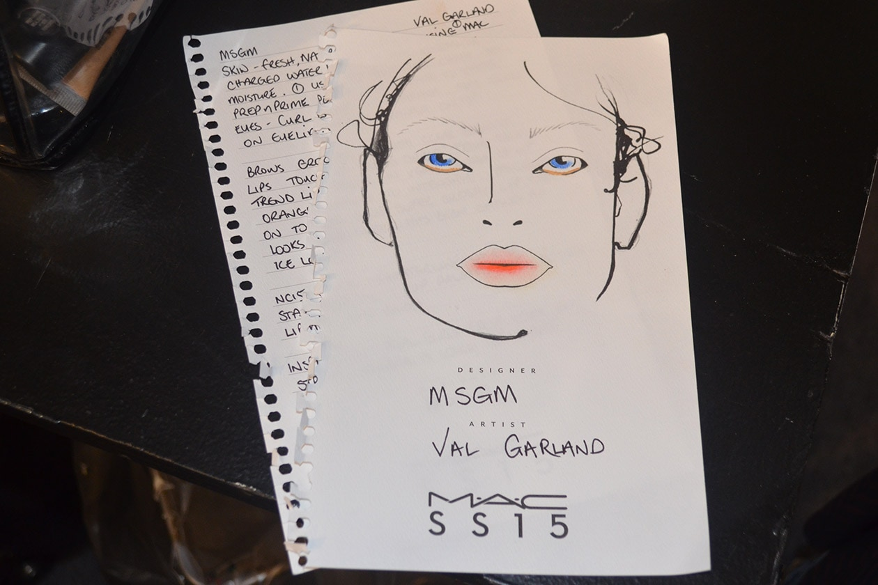 La Face Chart by Val Garland