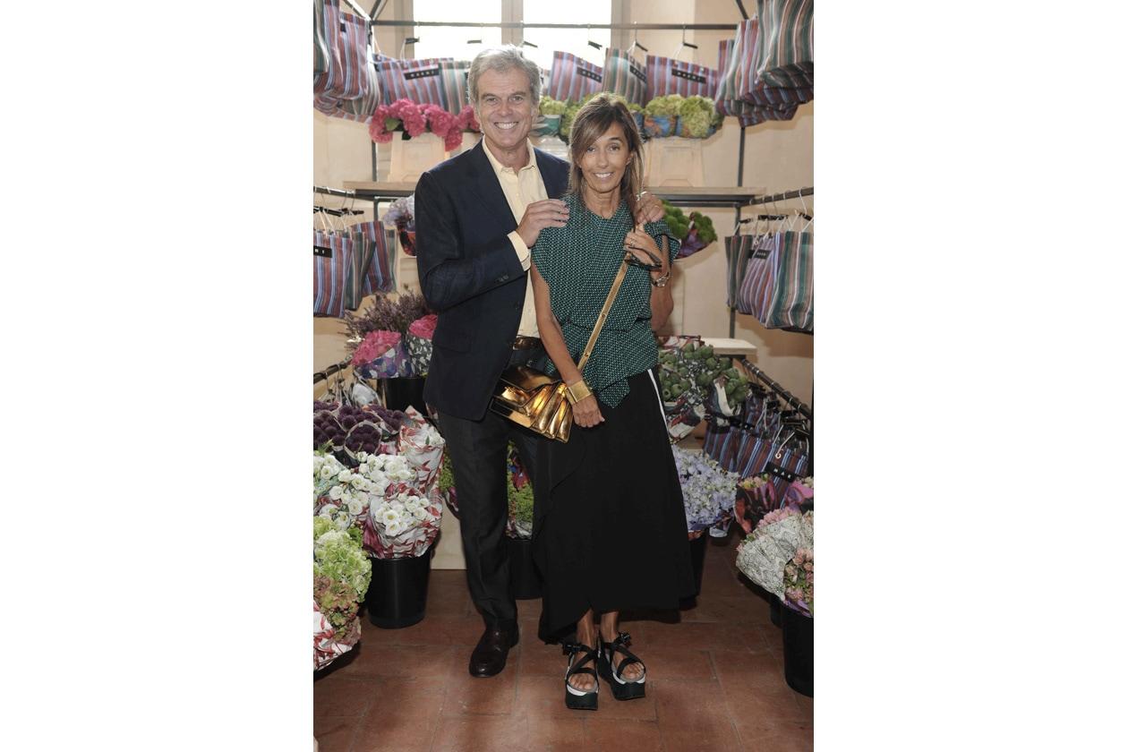 MARNI FLOWER MARKET Gianni and Consuelo Castiglioni
