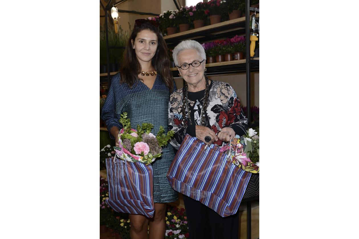 MARNI FLOWER MARKET Margherita e Rosita Missoni