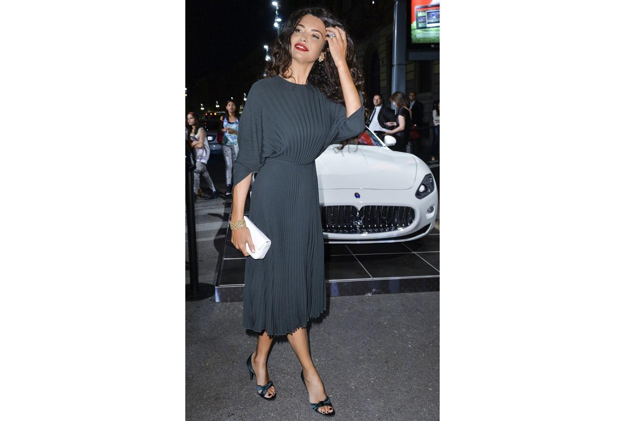 """Maserati partner ufficiale della mostra """"Vogue Archive Celebrating 50th Anniversary of Fashion"""" Afef Tronchetti Provera"""