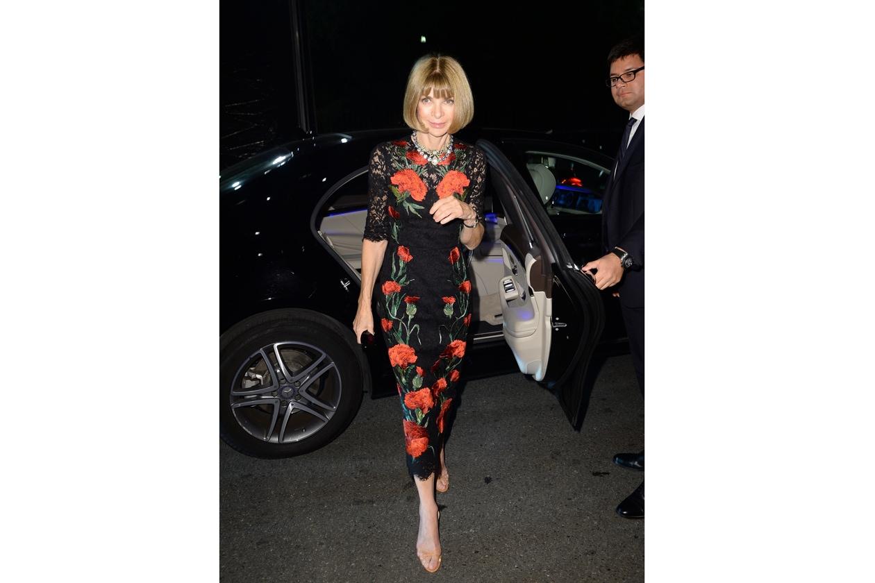 """Maserati partner ufficiale della mostra """"Vogue Archive Celebrating 50th Anniversary of Fashion"""" Anna Wintour"""