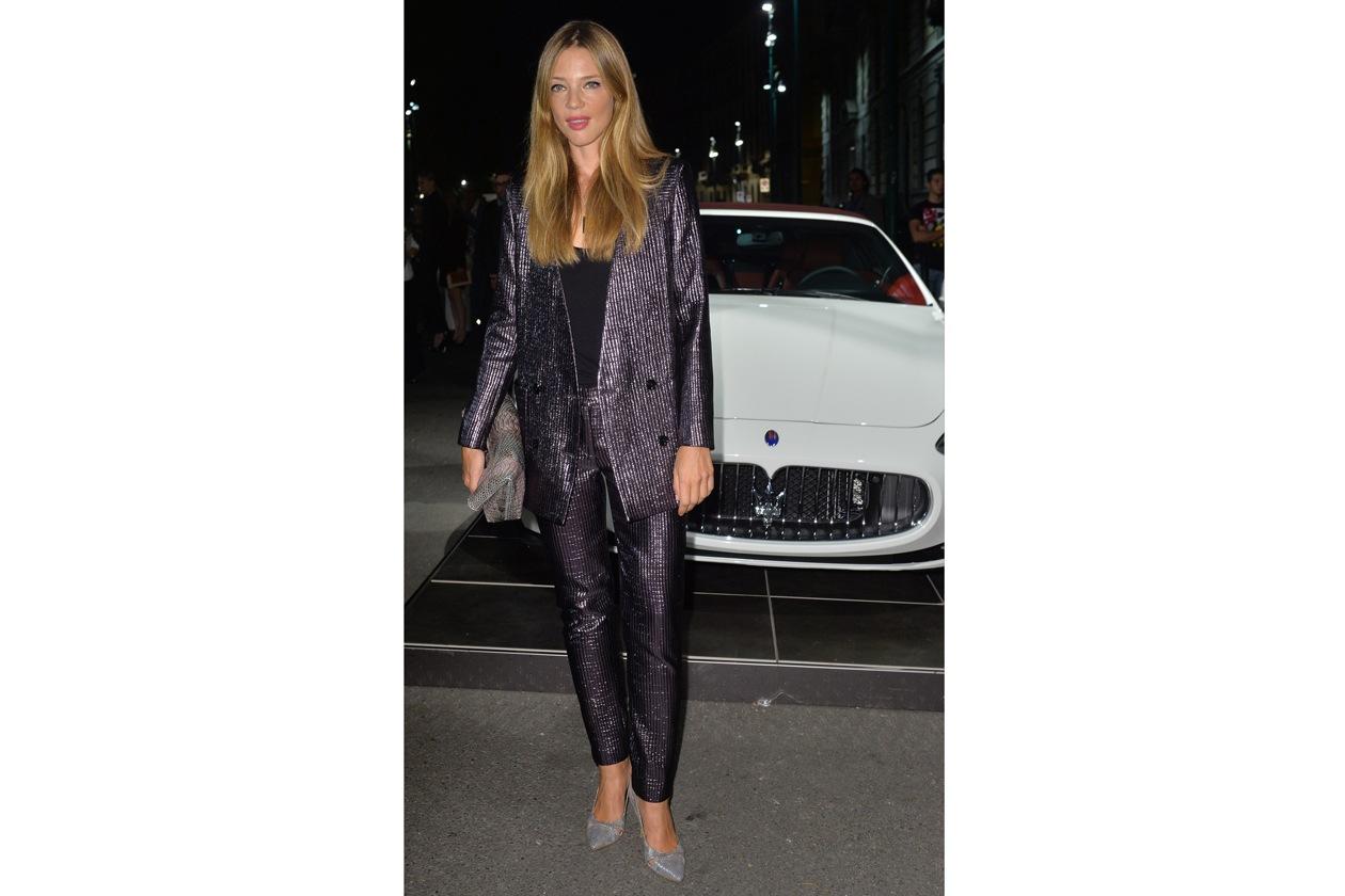 """Maserati partner ufficiale della mostra """"Vogue Archive Celebrating 50th Anniversary of Fashion"""" Gaia Trussardi"""