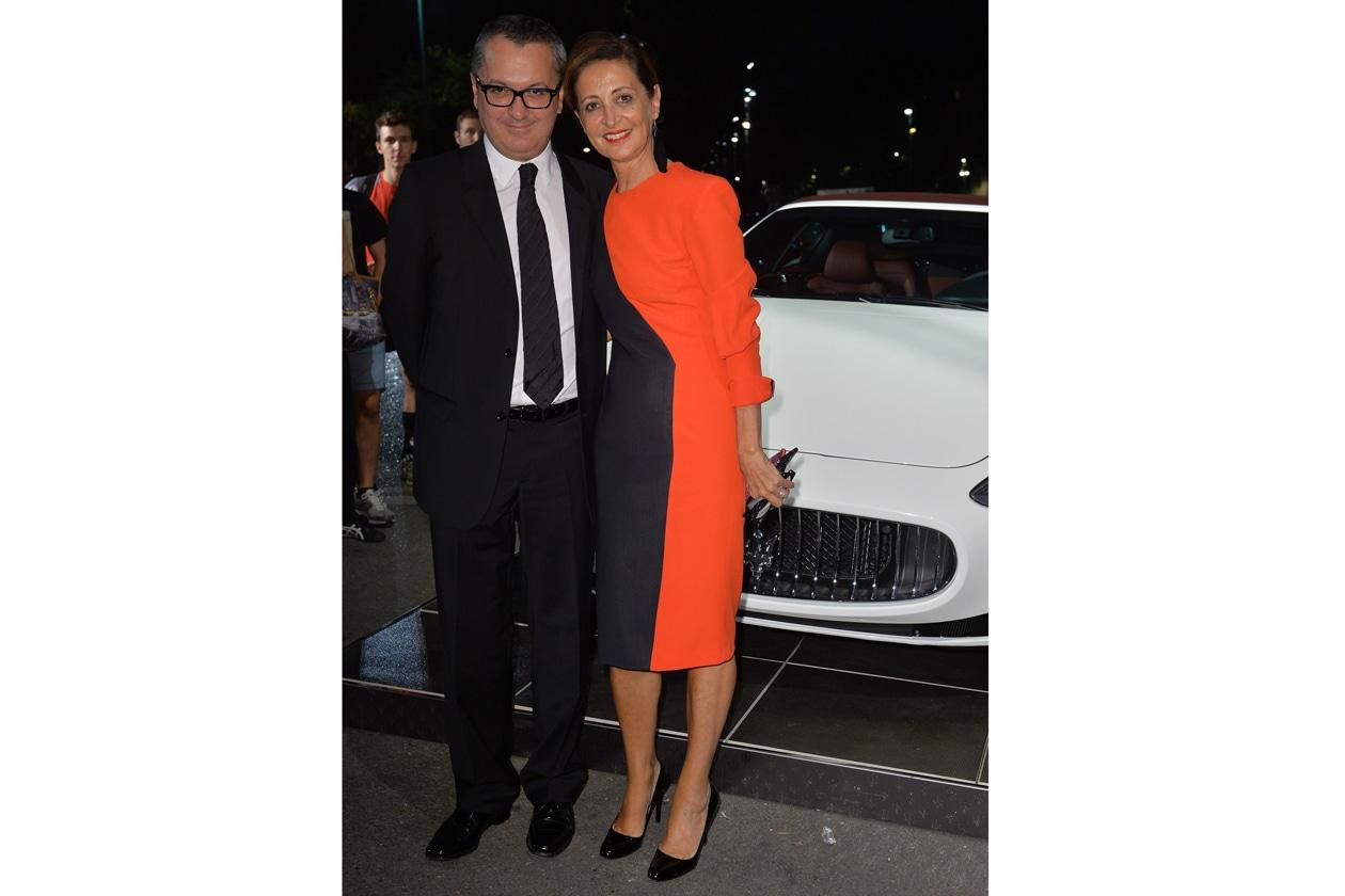 """Maserati partner ufficiale della mostra """"Vogue Archive Celebrating 50th Anniversary of Fashion"""" Luca Dini, Sciascia Gambaccini"""