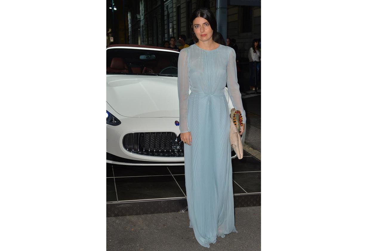 """Maserati partner ufficiale della mostra """"Vogue Archive Celebrating 50th Anniversary of Fashion"""" Lucilla Bonaccorsi"""