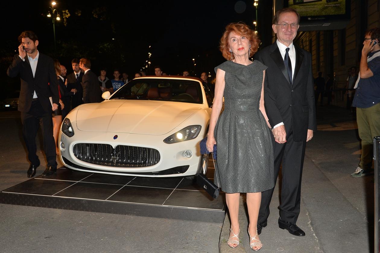 """Maserati partner ufficiale della mostra """"Vogue Archive Celebrating 50th Anniversary of Fashion"""" Paola Grandi, Giampaolo Grandi"""